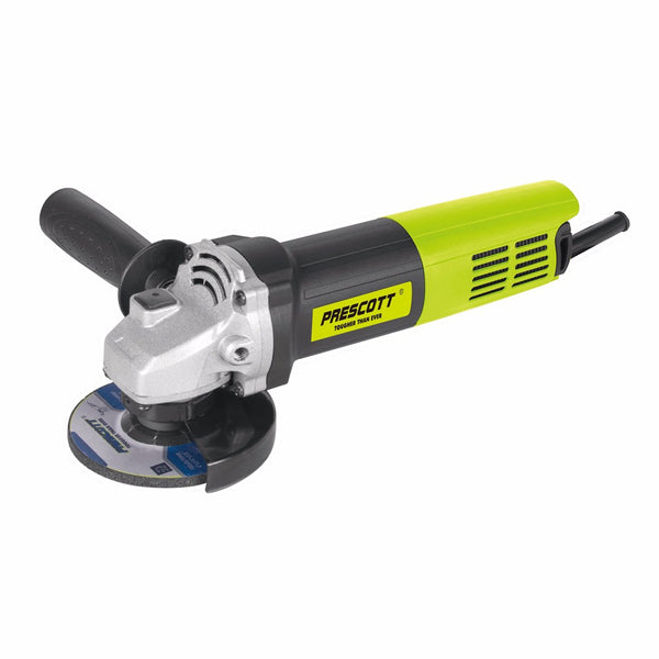 "Prescott 4"" ANGLE GRINDER WITH FILTER HEAVY 750W PT0310014"