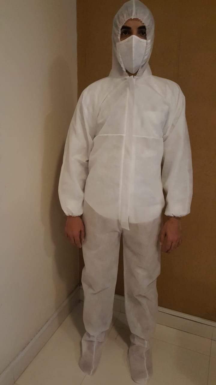 Protective Coverall Suit