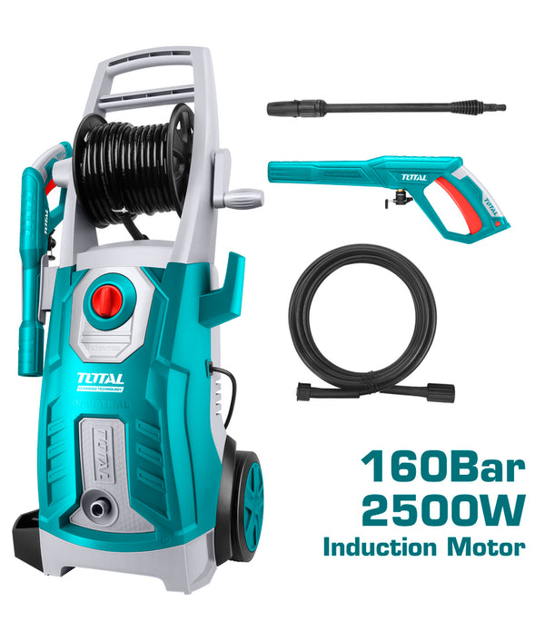 Total High Pressure Washer 2500W 160 Bar