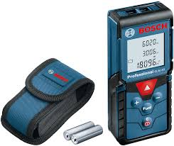 Bosch Laser Measure/Ranger Finder, 0.15-40M, GLM40 Professional