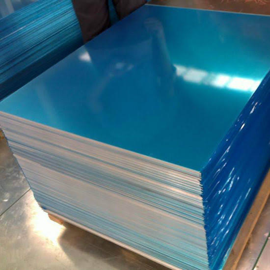 Aluminum Sheets 0.5mm Grade 1100 H14 1 Side PVC