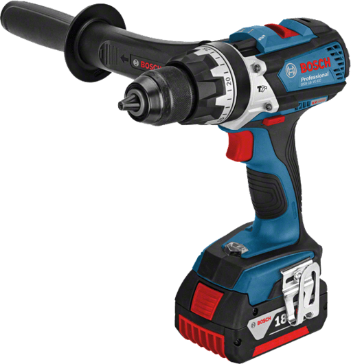 Bosch Cordless Percussion Driver Drill, 18.0V, Li-ion, Extra Battery Included, GSB18VE-EC Professional