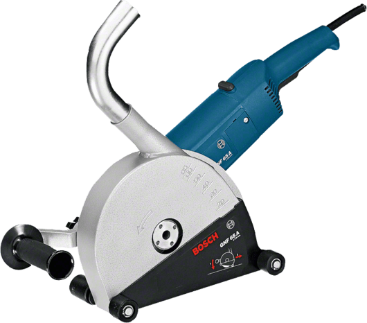 Bosch Groove Cutter/Wall Chaser, 2400W, GNF65A Professional