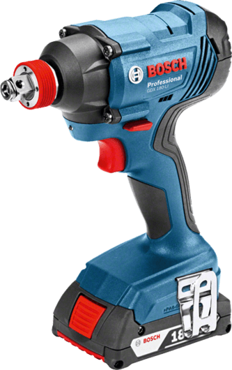 Bosch Cordless Impact Wrench, 18V, Extra Battery Included, GDX18V-LI Professional