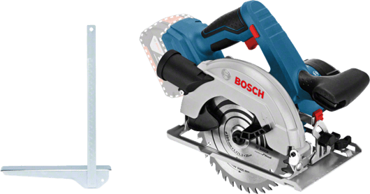 Bosch Cordless Circular Saw, 165mm, 18V, Extra Battery Included, GKS18V-57 Professional