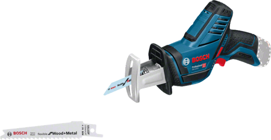 Bosch Cordless Reciprocating Saw, 12V, Extra Battery Included, GSA12V-14 Professional
