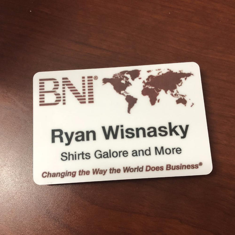 "2""x3"" Name Badge"