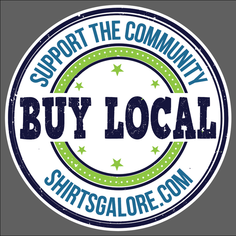Buy Local Decal