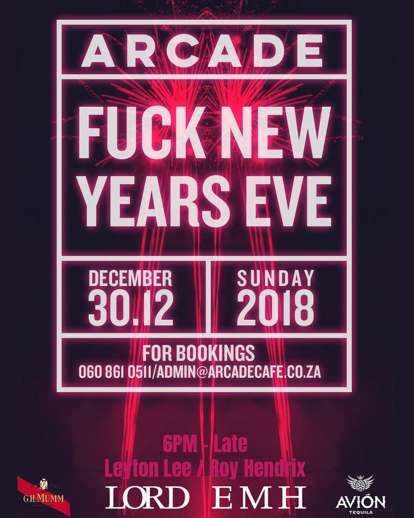 F*#K NEW YEARS EVE