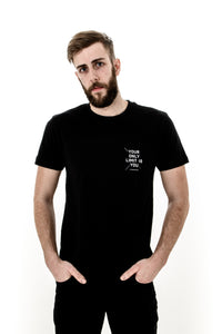 Your Only Limit Is You - Black Short-Sleeve T-Shirt
