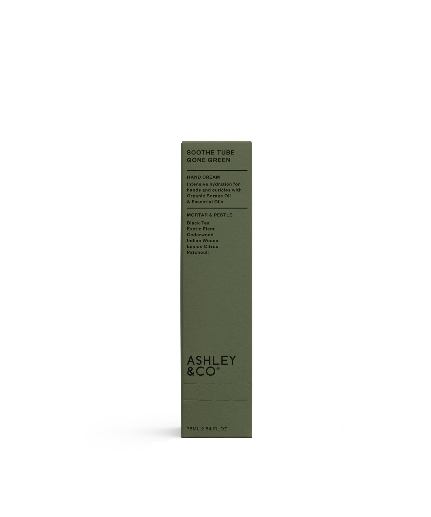 Mortar & Pestle Gone Green Soothe Tube by Ashley & Co.