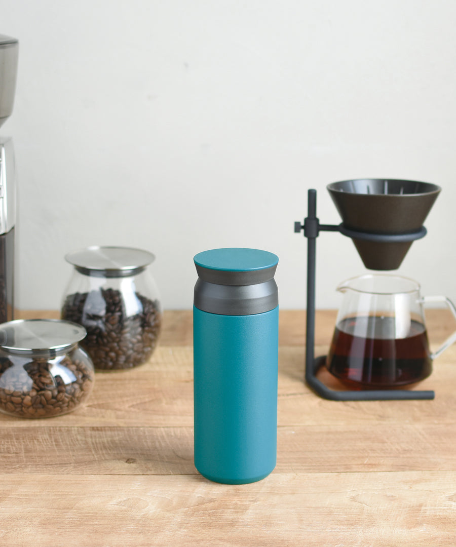 Traveller Tumbler 350ml (Turquoise) by Kinto