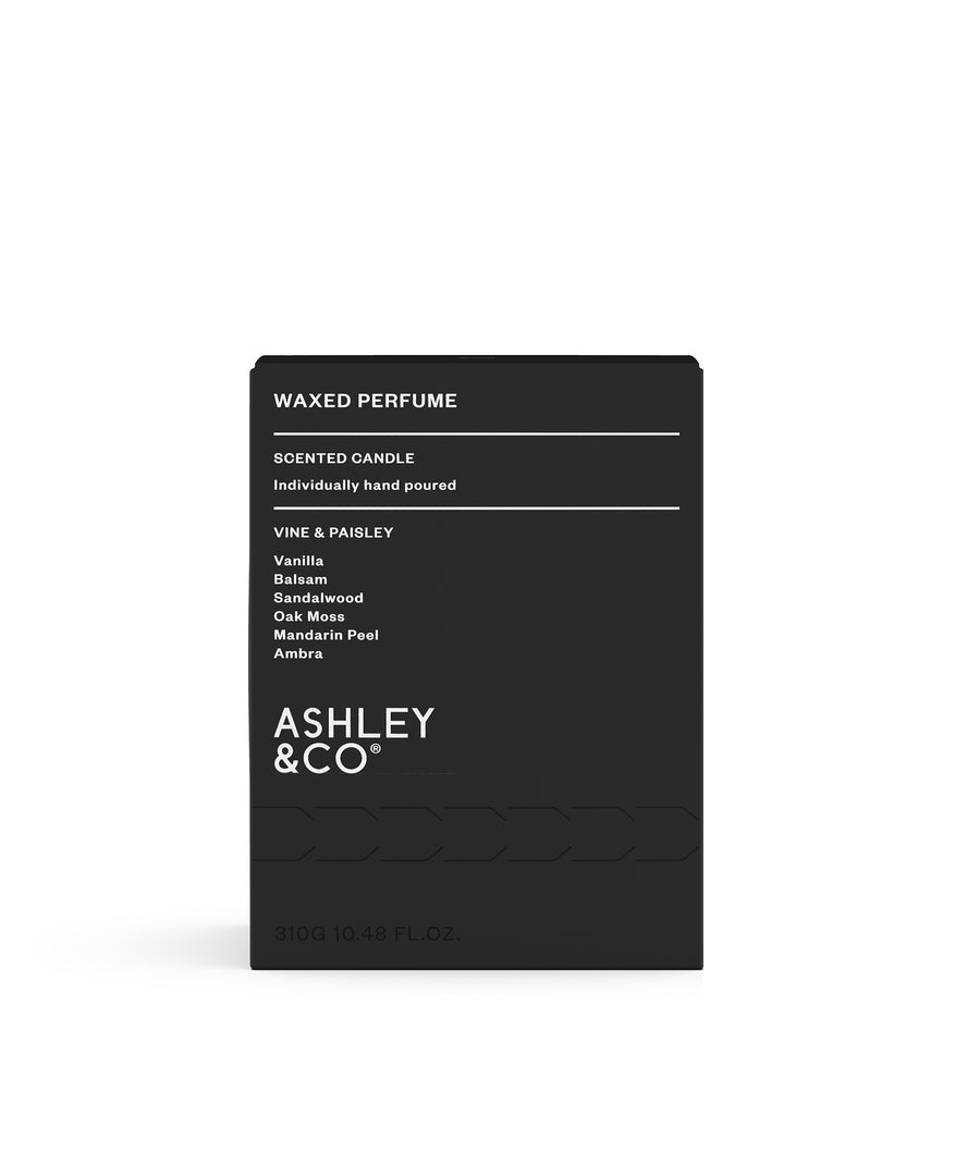Vine & Paisley Waxed Perfume by Ashley & Co.