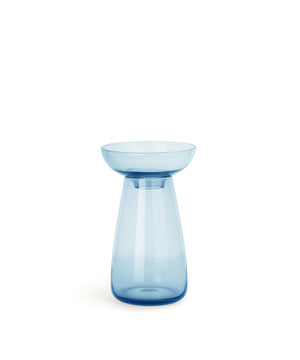 Aqua Culture Vase 130mm (Blue) by Kinto
