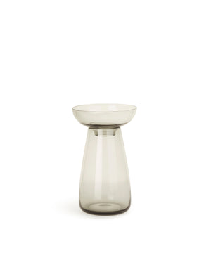 Aqua Culture Vase 130mm (Grey) by Kinto