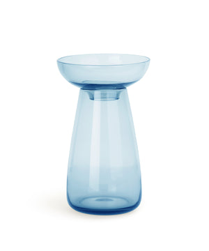 Aqua Culture Vase 190mm (Blue) by Kinto