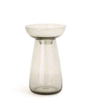 Aqua Culture Vase 190mm (Grey) by Kinto