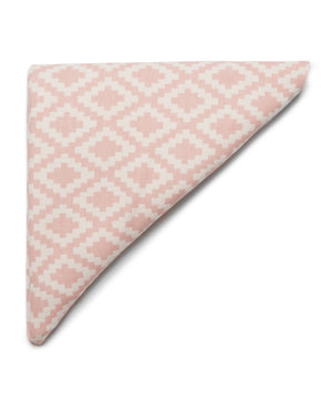 Diamonds Blanket (Pale Pink) by Klippan