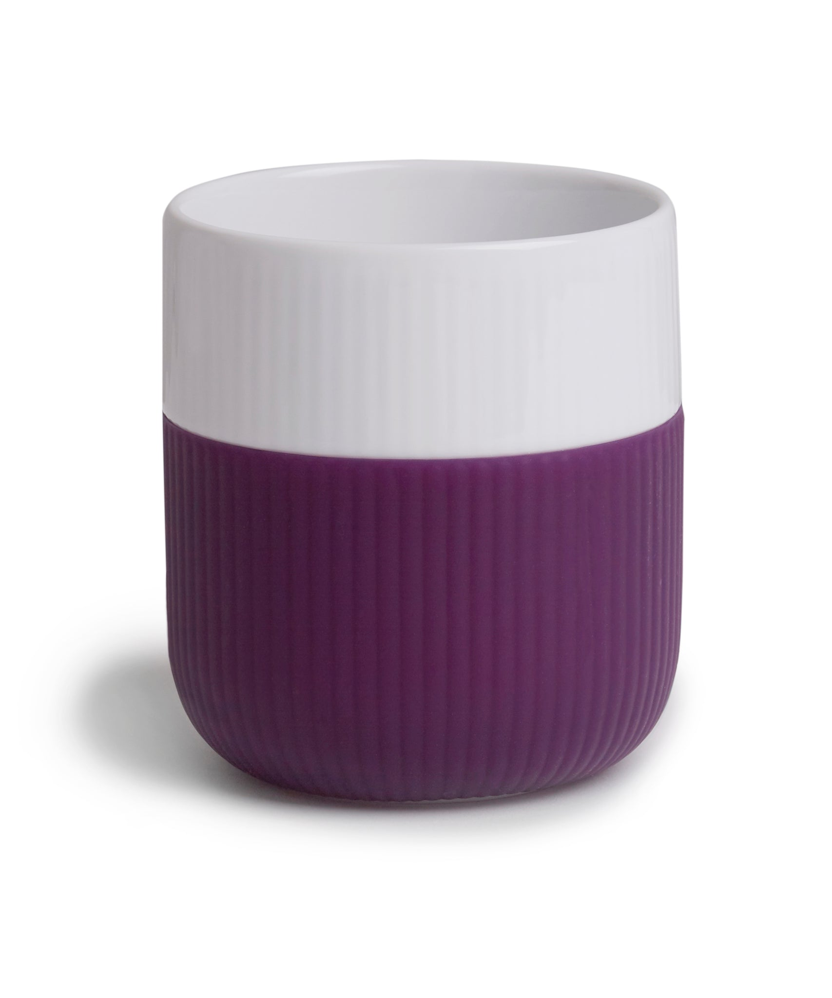 Fluted Contrast Mug (Aubergine) by Royal Copenhagen
