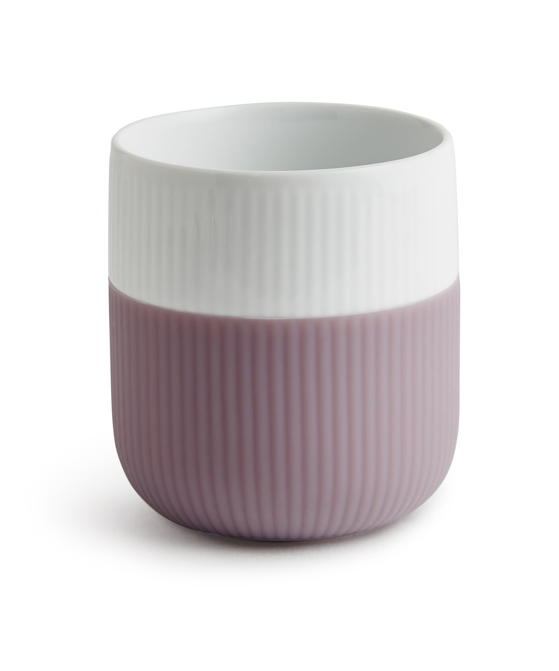 Fluted Contrast Mug (Heather) by Royal Copenhagen