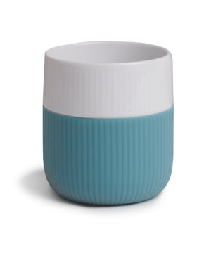Fluted Contrast Mug (Opal) by Royal Copenhagen