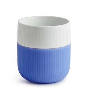 Fluted Contrast Mug (Sky) by Royal Copenhagen