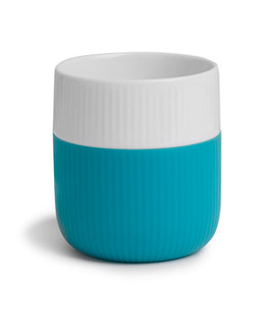 Fluted Contrast Mug (Turquoise) by Royal Copenhagen
