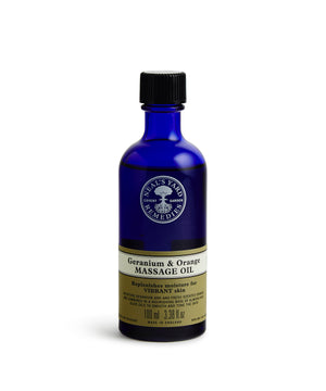 Geranium & Orange Massage Oil By Neal's Yard Remedies