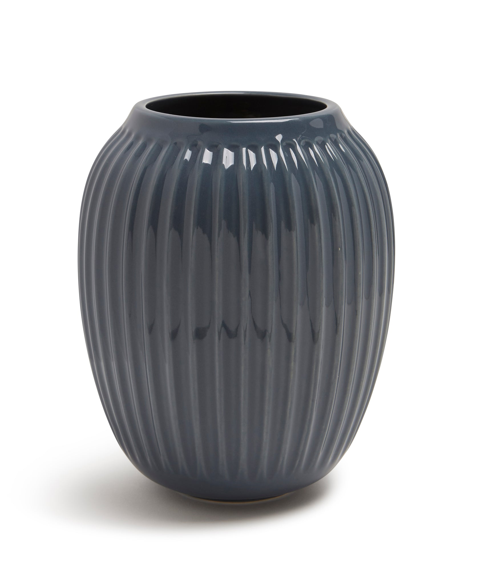 Hammershøi Vase 200mm (Anthracite) by Kähler