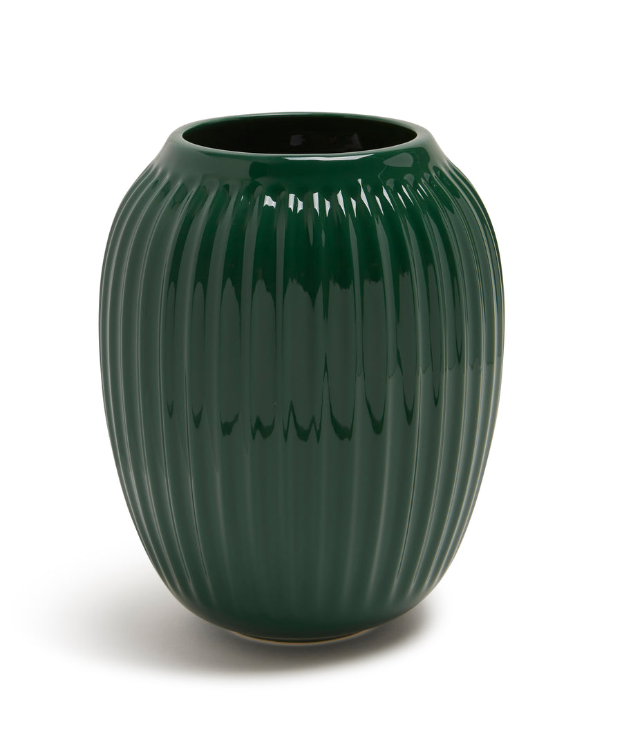 Hammershøi Vase 200mm (Green) by Kähler