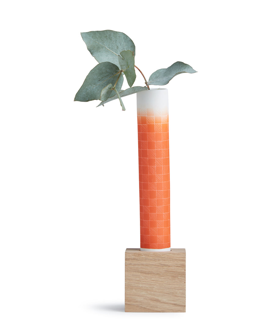 Les Hauts Gradés Flower Vase - Orange