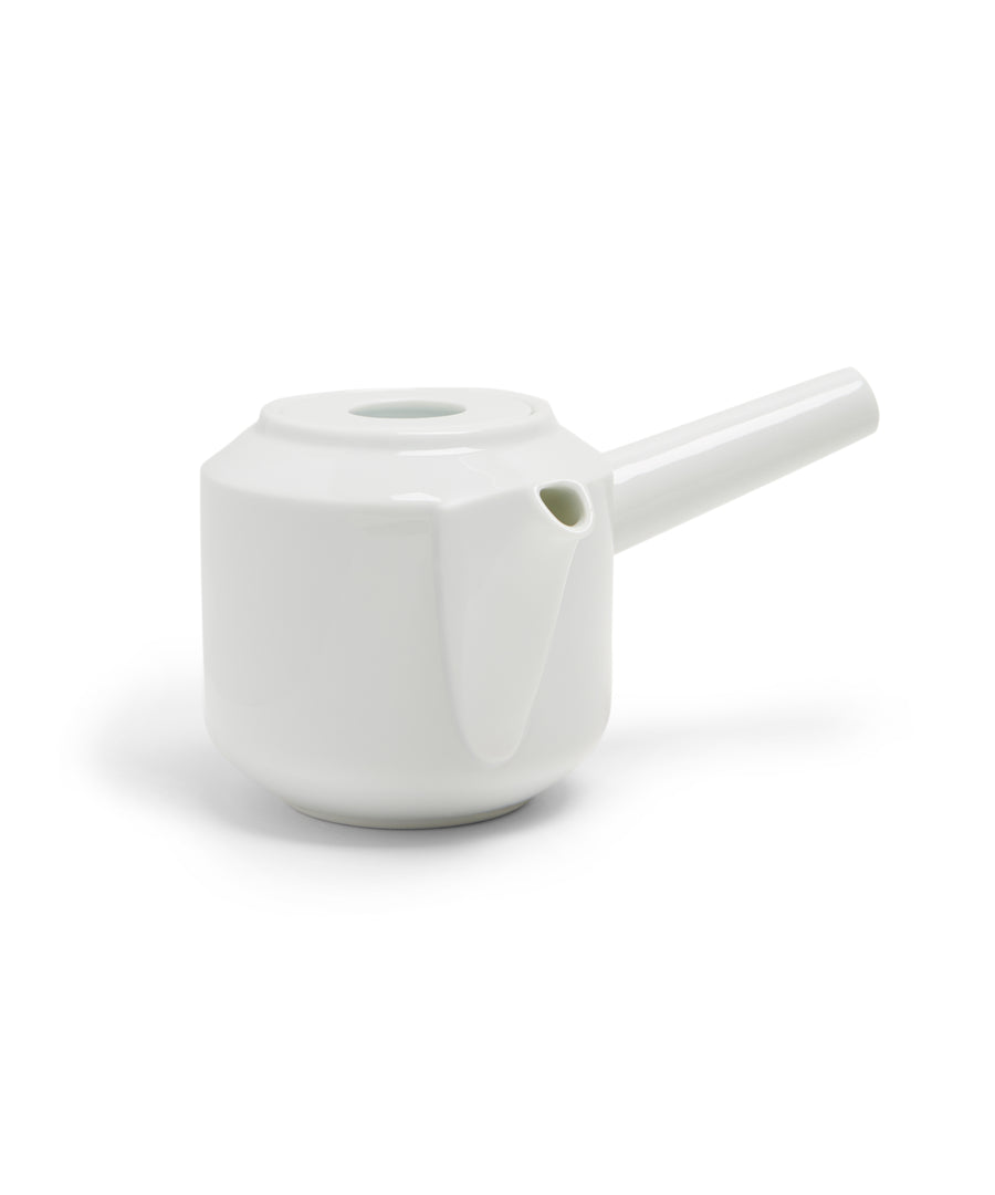 LT Kyusu Teapot 300ml (White) by Kinto