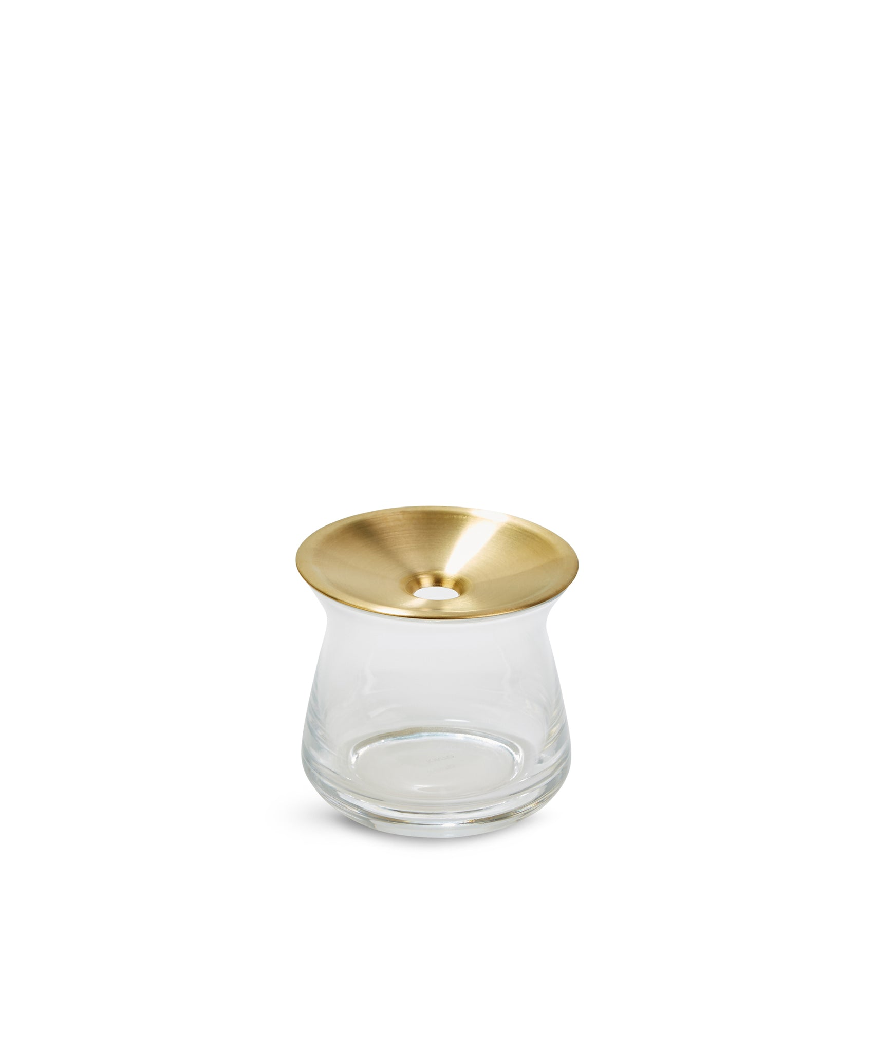 Luna Vase S (Clear) by Kinto