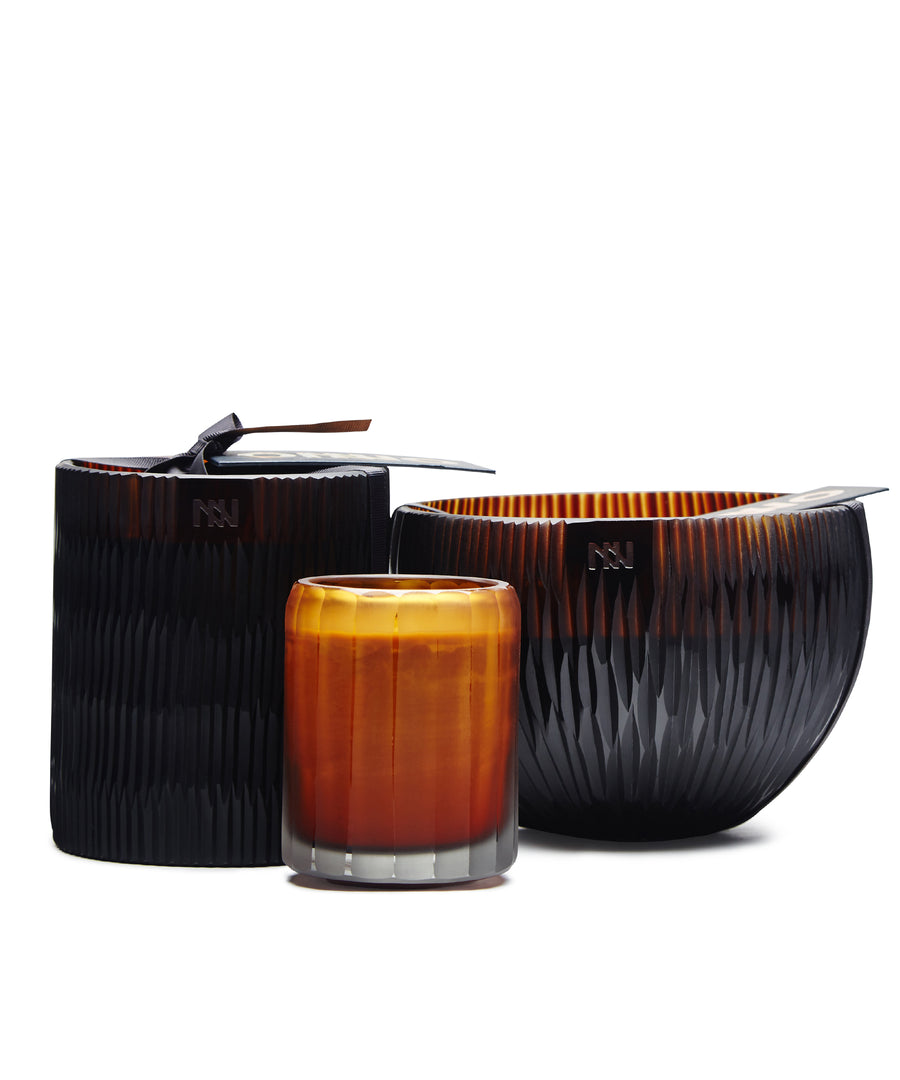 Large Ellipse Candle by Onno