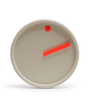 Picto Wall Clock (Light Grey) by Rosendahl