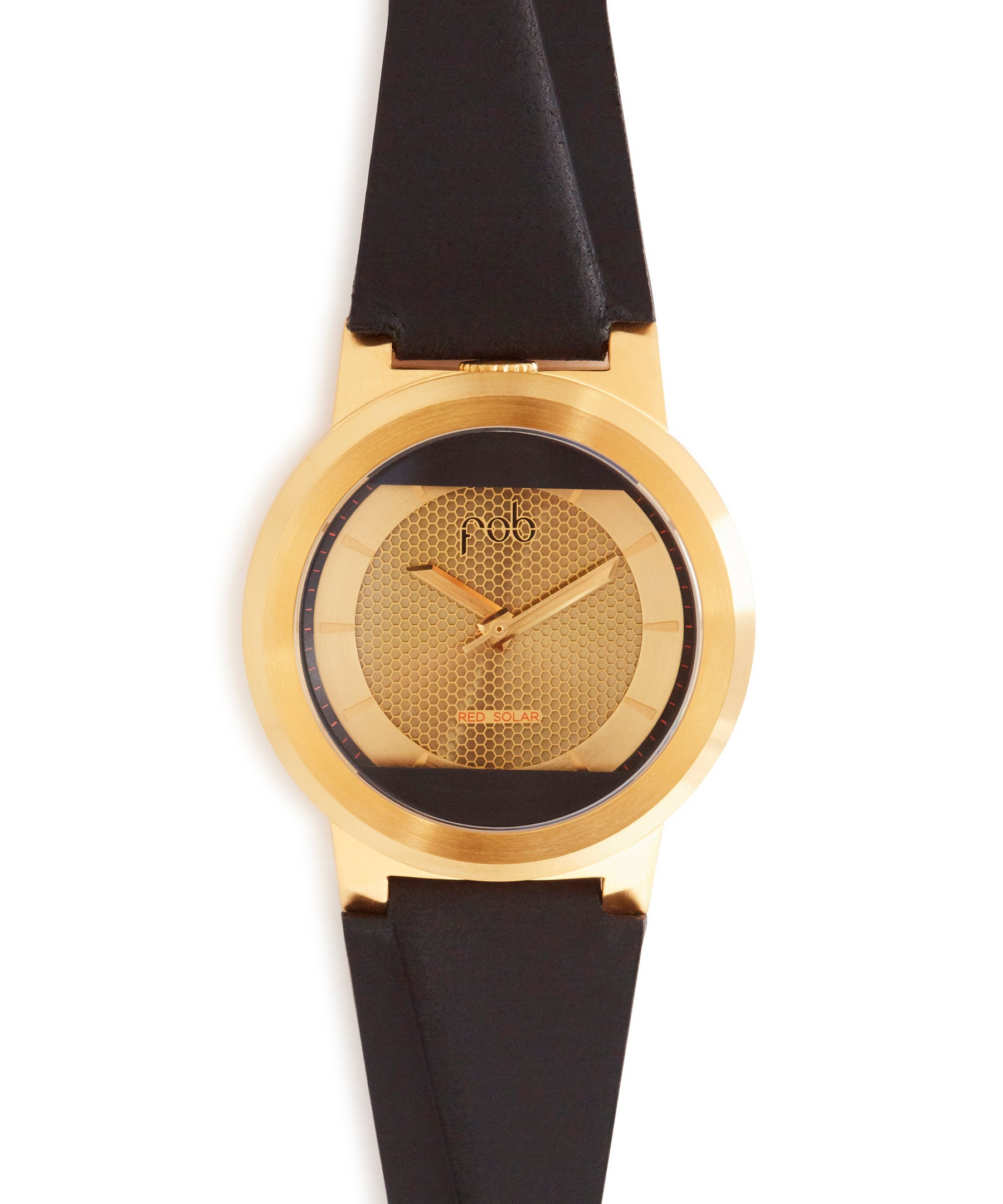 Red Solar Gold Leather Edition by Fob Paris