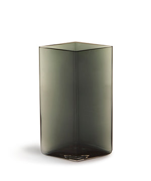 Ruutu Vase 180mm (Grey) by Iittala