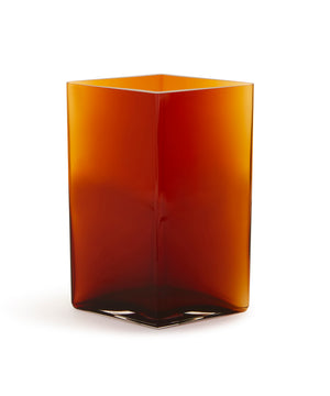 Ruutu Vase 270mm (Copper) by Iittala