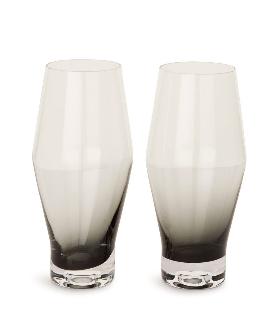 Tank Beer Glass (Black) x2 by Tom Dixon
