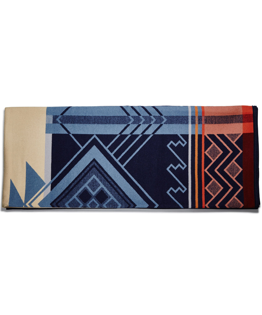 The Peaceful Ones Unnapped Jaquard Blanket by Pendleton