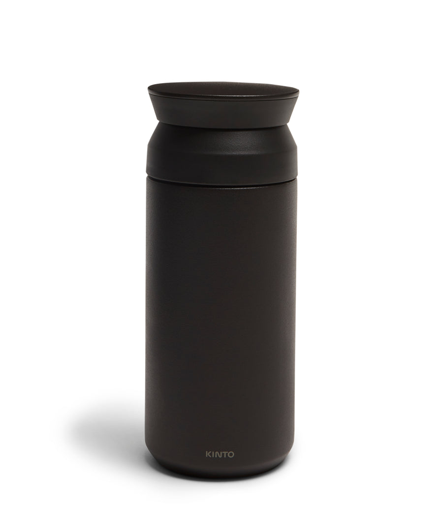 Traveller Tumbler 350ml (Black) by Kinto