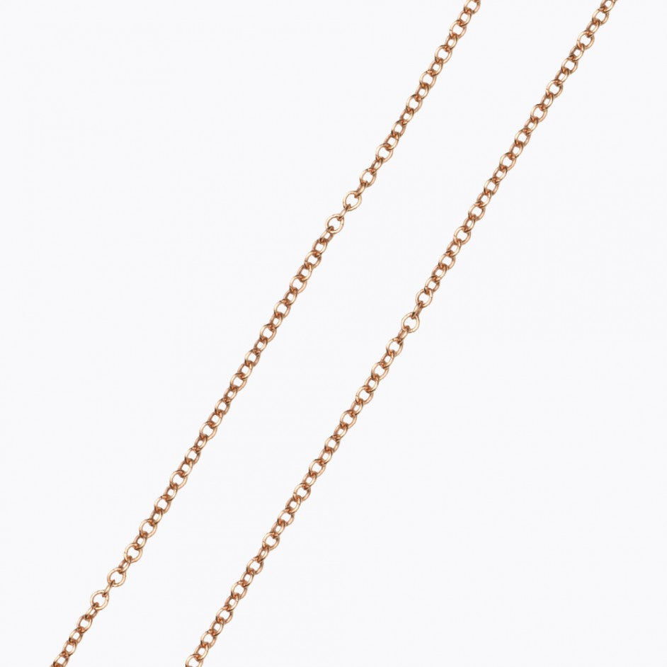 32 Inch Rose Gold Chain