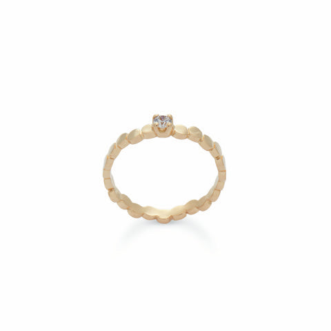 Reine Solitaire Ring