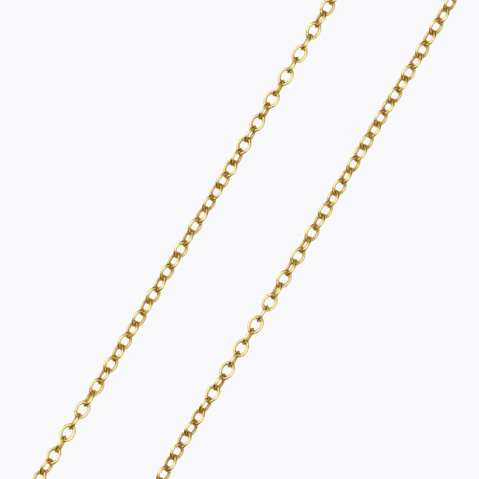 32 Inch Yellow Gold Chain