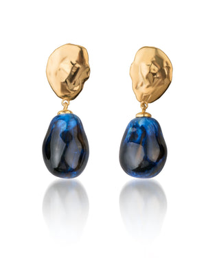 Lake Drop Earrings Cosmo