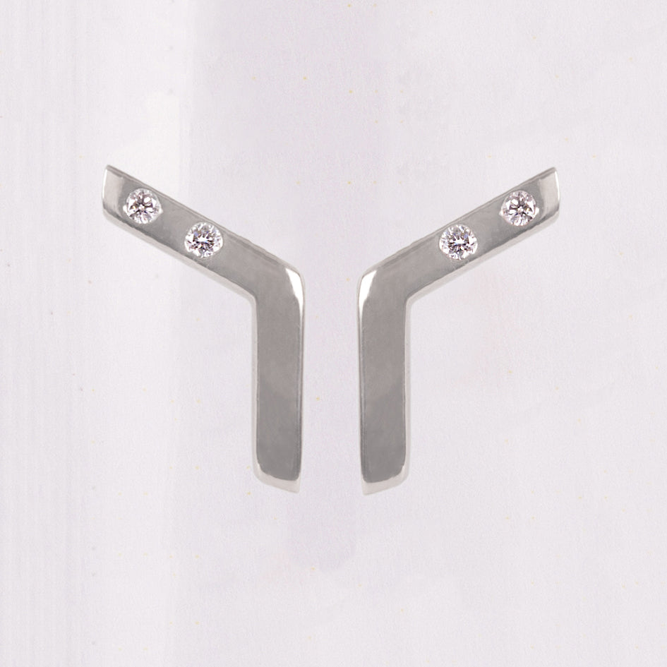 Diamond Linear Studs