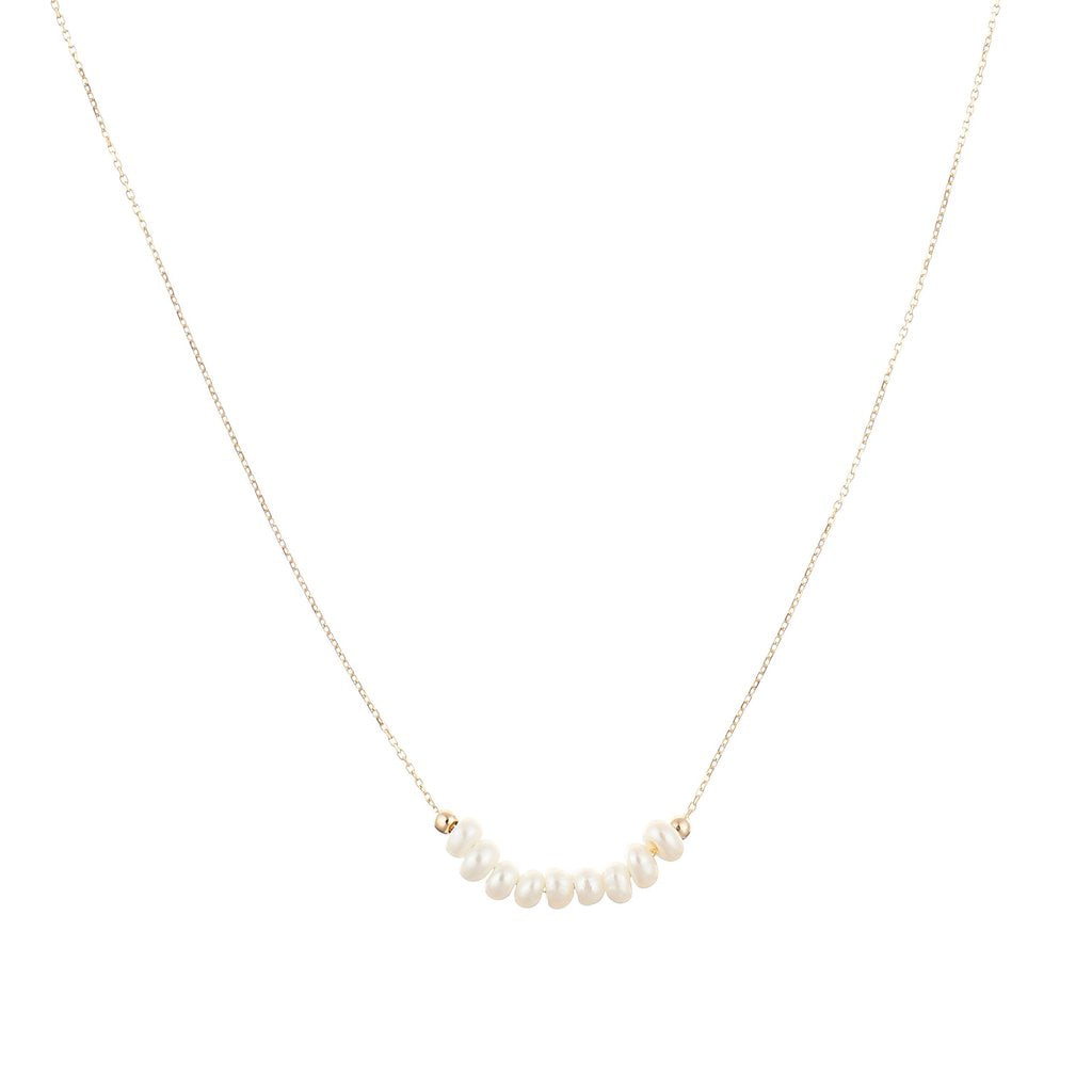 Ellie Pearl Necklace