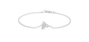 Fryd White Gold Diamond Bracelet