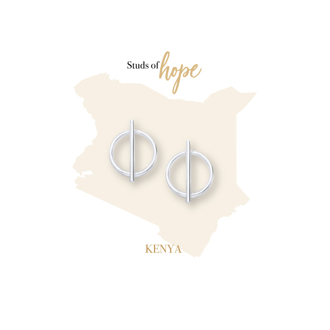 Minimalist Cut Circle- Kenya