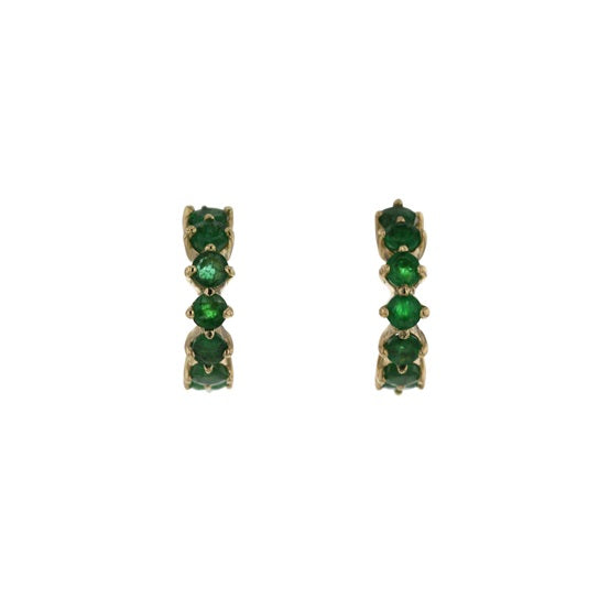 Lulu Emerald Earrings
